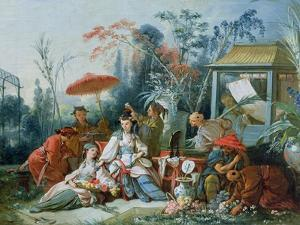 The Chinese Garden, circa 1742 by Francois Boucher