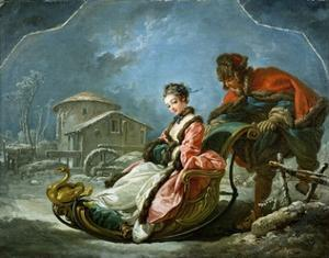 The Four Seasons: Winter by Francois Boucher
