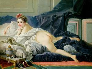 The Odalisque, 1749 by Francois Boucher