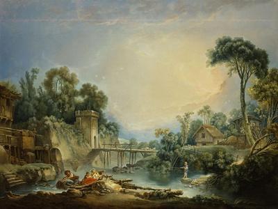 The Rustic Bridge, c.1756
