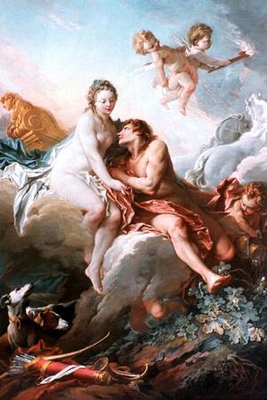 Venus and Mars, C1725-1770