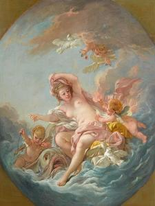 Venus Rising from the Waves, c.1766 by Francois Boucher