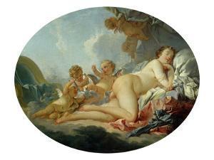 Venus Sleeping by Francois Boucher