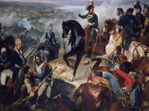 The Battle of Zurich, 25th September 1799, 1837 by Francois Bouchot