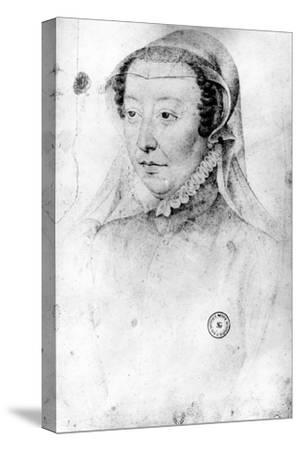 Catherine De Medici, C.1560 (Pierre Noire and Red Chalk on Paper)
