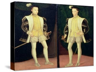 Left to Right Francis II (1544-60) and Charles IX (1550-74) of France