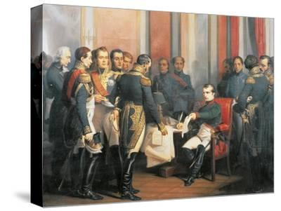 Napoleon Signing His Abdication at Fontainebleau, April 4, 1814