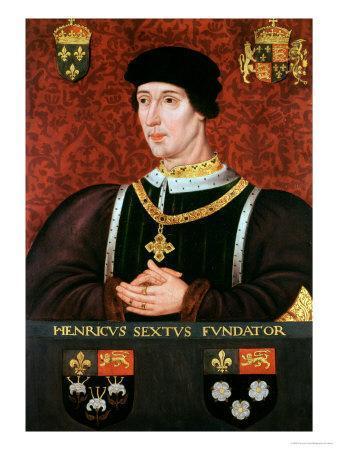 Portrait of Henry VI of England