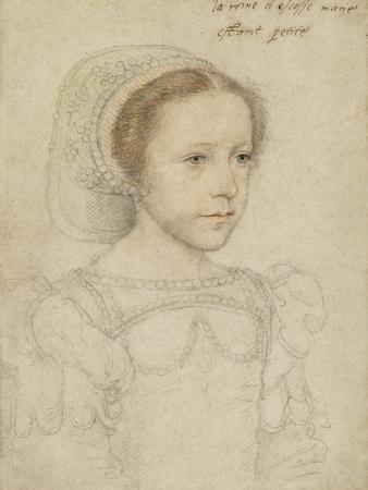 Portrait of Mary, Queen of Scots, C.1549