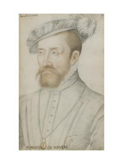 François De Cleves-Jean Clouet-Giclee Print