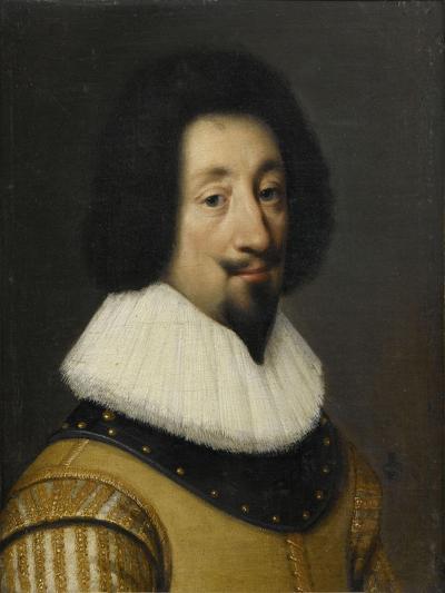François de l'Aubépine, marquis d'Hauterive-Daniel Dumonstier-Giclee Print