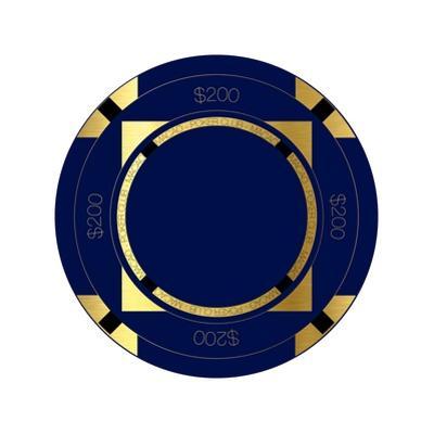 Pokerchip $200, 2015 by Francois Domain