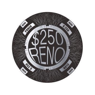 Pokerchip $250, 2015 by Francois Domain
