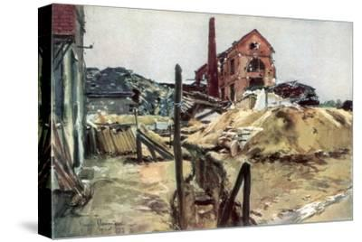 Factory Buildings, Soissons, 19 May 1915