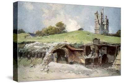 Rescue Station at Mont St Eloi, Artois, France, 6 June 1915