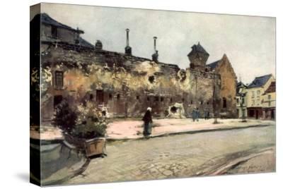 The Barracks at Soissons, France, 1915