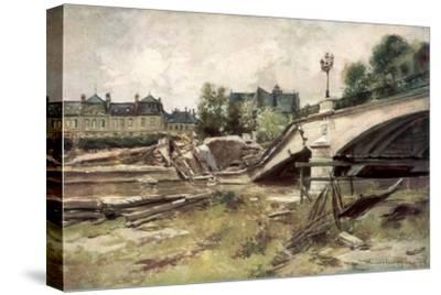 The Bridge at the Aisne, France, 1915