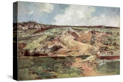 The Funnel of Carency, Artois, France, June 1915