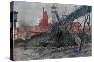 The Mines of Liévin: Calonne Pit, Artois, France, World War I, 1915