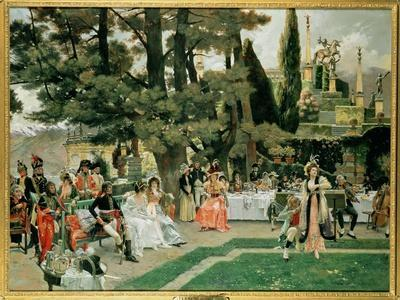 The Reception for Napoleon I on the Isola Bella in the 5th Year of His Reign