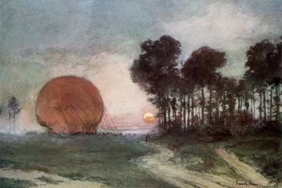 The Return of the Balloon, Artois, France, 10 June 1915