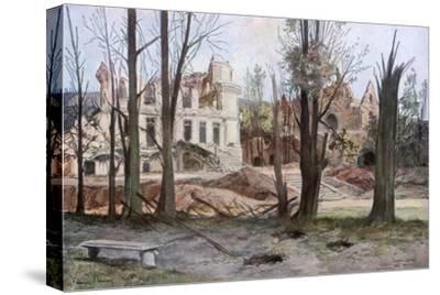 The Ruins of a House, Soupir, First World War, April 1917