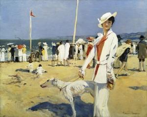 The Seaside by Francois Flameng