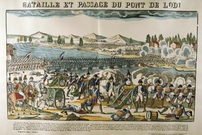Battle and Crossing of Bridge of Lodi, 11 May, 1796