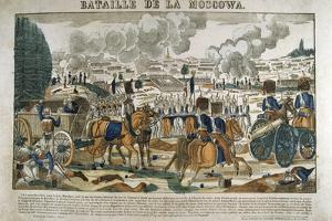 Battle of Borodino, Russia, September 1812 by Francois Georgin