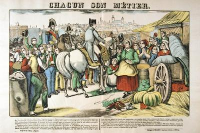 Napoleon's Return to Paris from the Island of Elba, 1815