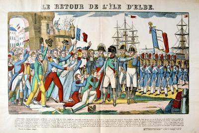 The Return of Napoleon from the Isle of Elba, 26 February 1815