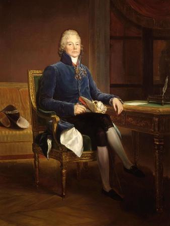 Charles-Maurice de Talleyrand-P�gord, 1754-1838, French statesman and diplomat
