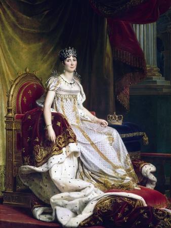 Empress Josephine in Coronation Robes