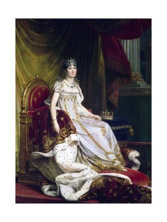 Empress Josephine in Coronation Robes