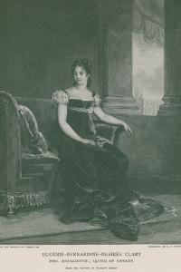 Eugenie-Bernardine-Desiree Clary by Francois Gerard