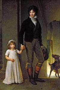 Jean-Baptiste Isabey by Francois Gerard