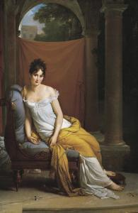 Madame Recamier by Francois Gerard