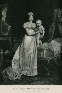 Maria Louisa and the King of Rome by Francois Gerard