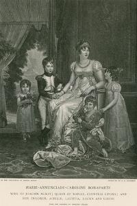 Marie-Annunciade-Caroline Bonaparte by Francois Gerard