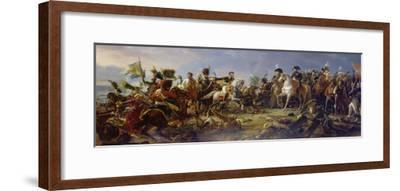 Napoleon Bonaparte at the Battle of Austerlitz