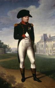 Napoleon Bonaparte, Emperor of France, at Malmaison, 1804 by Francois Gerard