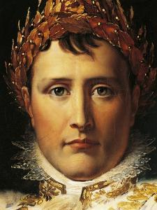 Napoleon Bonaparte in Emperor's Rodes, Circa 1805 by Francois Gerard
