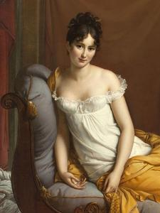 Portrait de Juliette Récamier by Francois Gerard