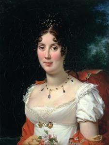 Portrait of a Lady in an Empire Dress by Francois Gerard