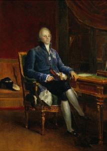 Portrait of Charles Maurice De Talleyrand Perigord, Prince of Benevent, 1808 by Francois Gerard