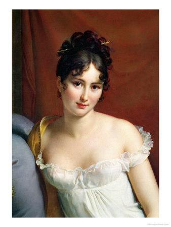 Portrait of Madame Recamier (1777-1849)