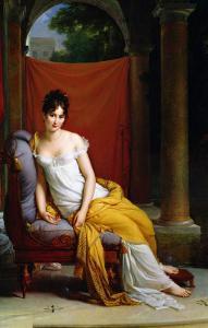 Portrait of Madame Recamier (1777-1849) by Francois Gerard