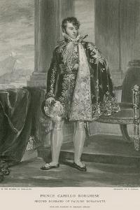 Prince Camillo Borghese by Francois Gerard