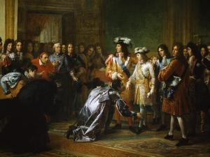 Recognition of Duke of Anjou as King of Spain by Francois Gerard