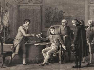 The Signing of the Concordat Between France and the Holy See on 15th July 1801 by Francois Gerard